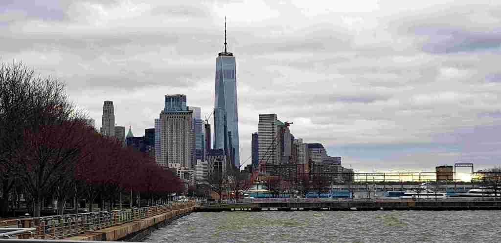 vista desde Hudson River Park