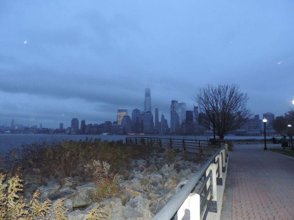 vistas desde Liberty State Park