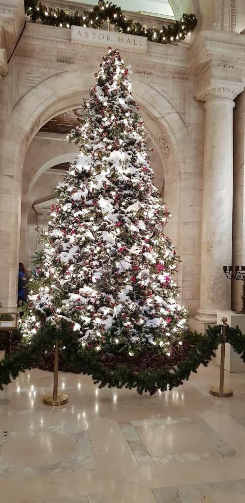 Arbol de navidad de la NYPL