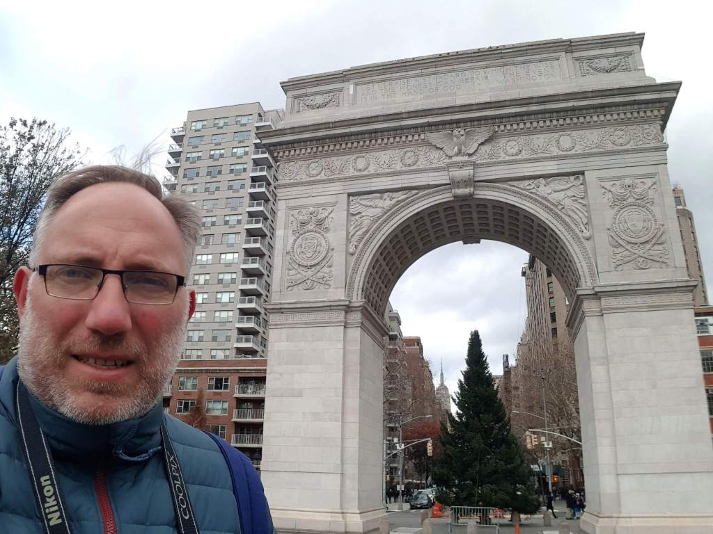 Árbol de navidad del Washington Square Park
