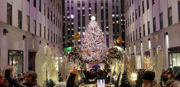 Arbol de Navidad Rockefeller