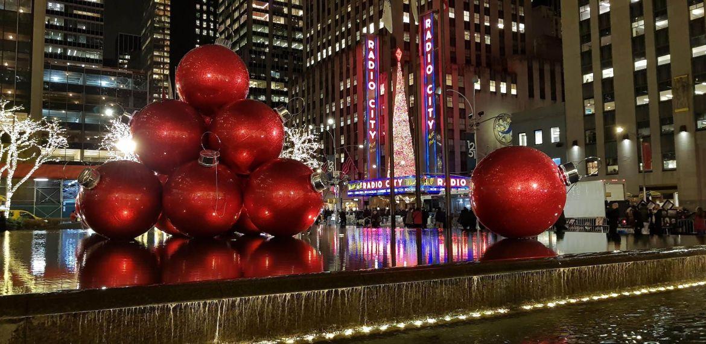 decoracion navideña en la 6ta avenida