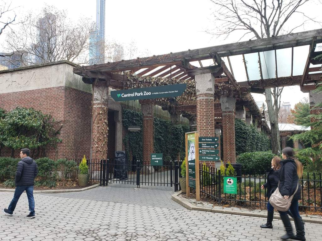 ingreso al central park zoo