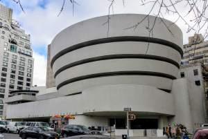 Exterior del Museo Guggenheim de Nueva York