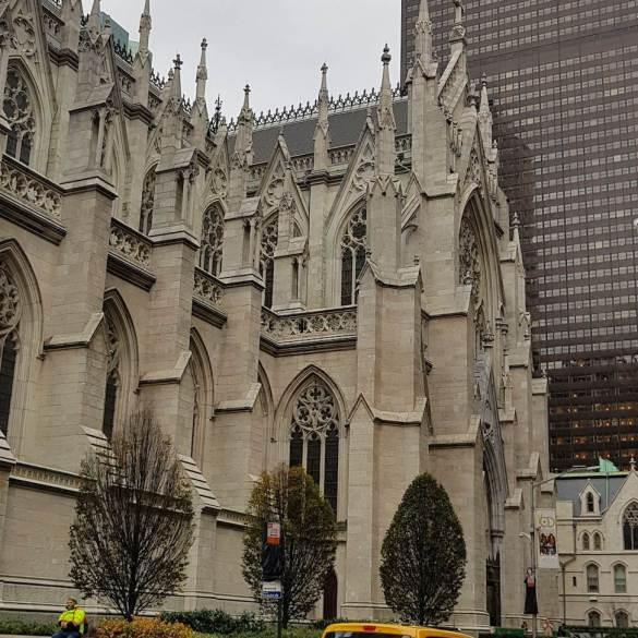 Lateral de la Catedral de San Patricio