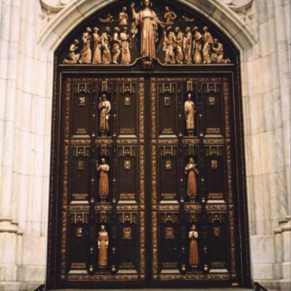 Puertas de Bronce de la Catedral de San Patricio