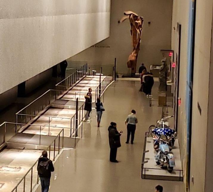 Vista interior Museo del 11-S