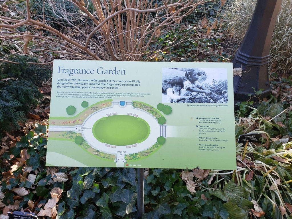 Jardín de Fragancias en BBG