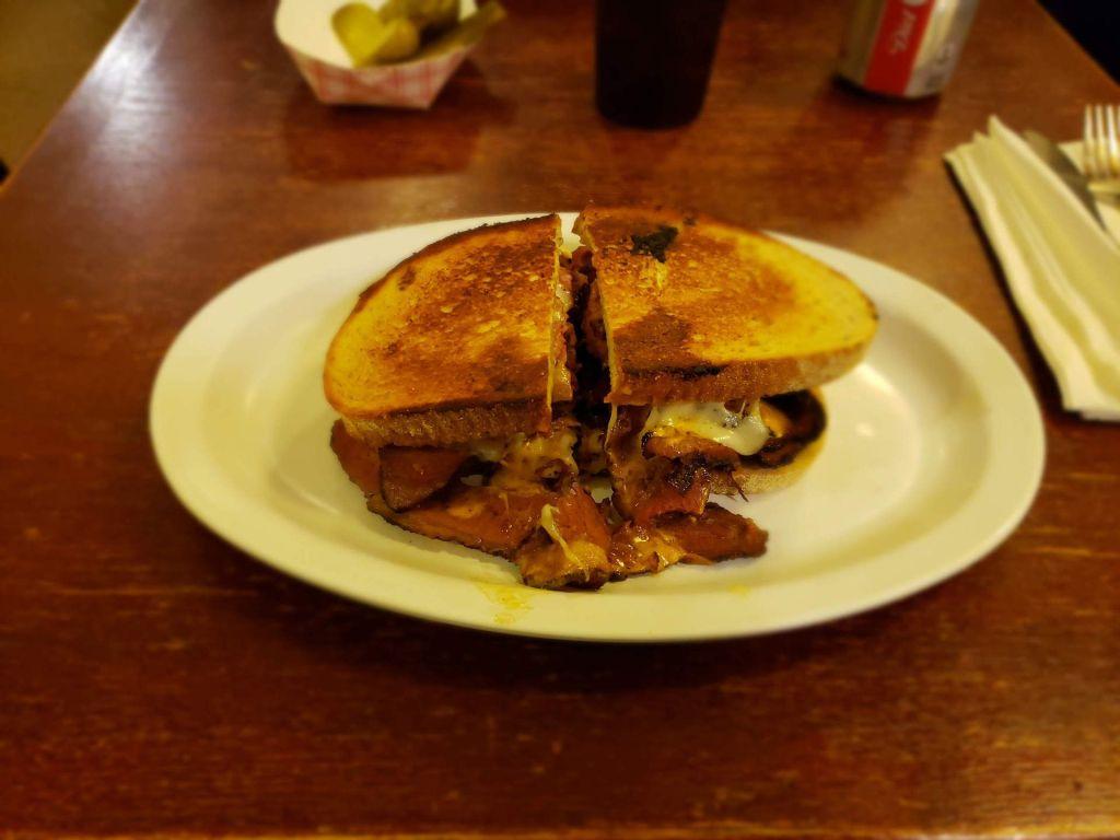 Reuben Eisenberg's sandwich NYC