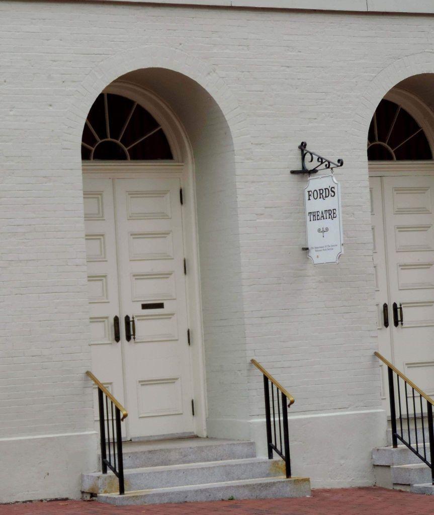 Fachada del teatro Ford en Washington DC
