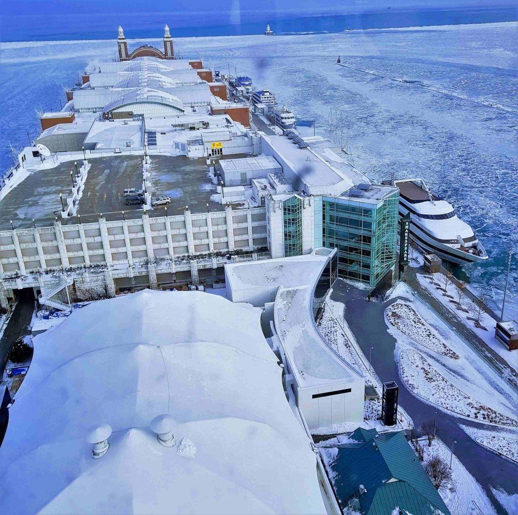 Navy Pier vista aerea
