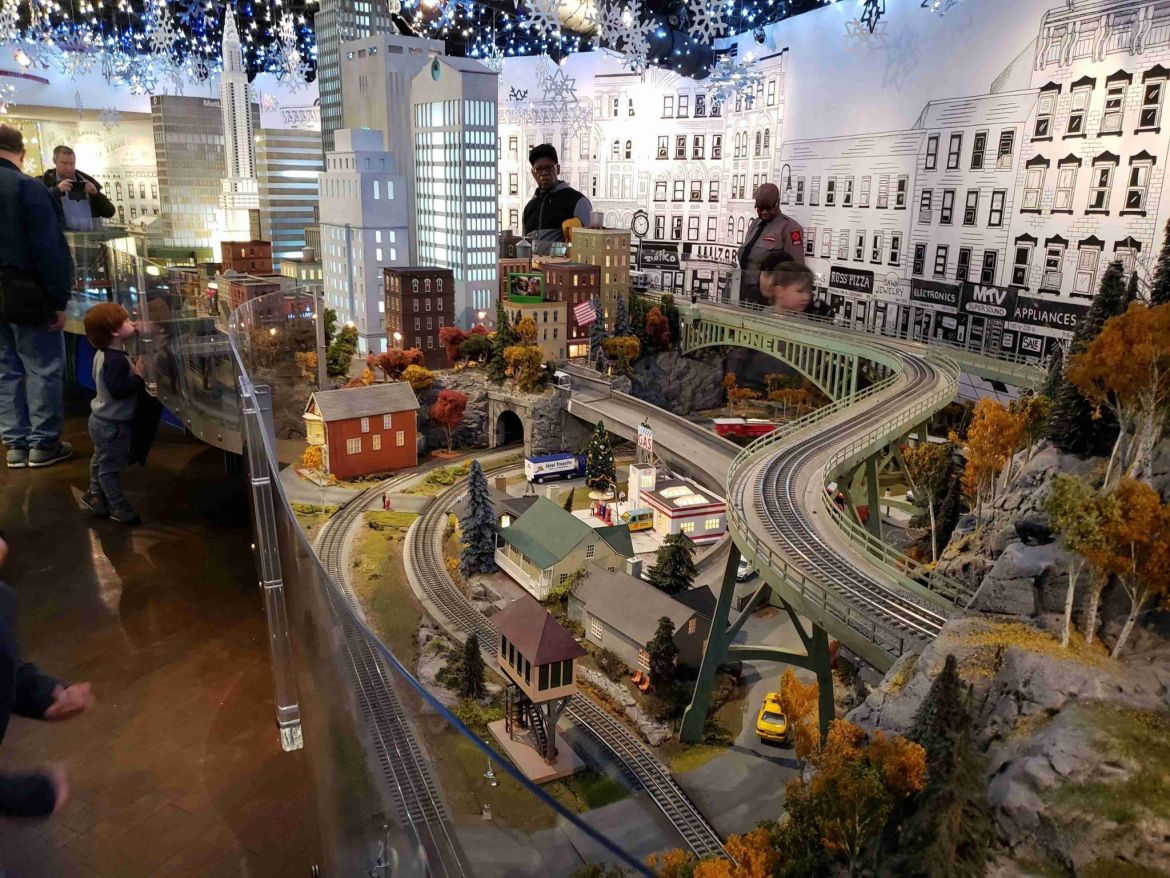 "Annual Holiday Train Show"" en Gran Central Terminal"