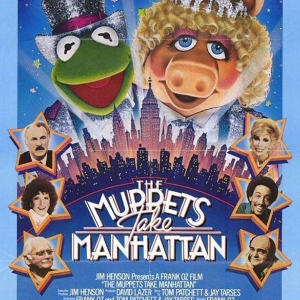 Afiche de The Muppets take Manhattan