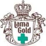 logo lama gold