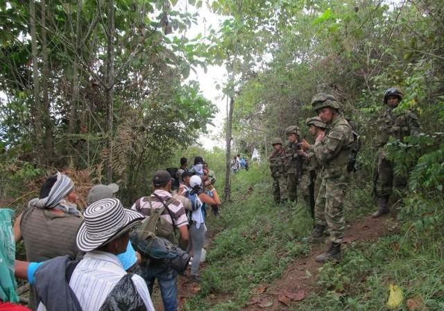 Colombia continúa con el segundo lugar por índices de desplazamiento