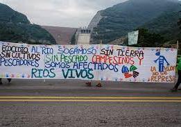 Desalojan forzadamente a víctimas que protestaban contra Hidrosogamoso
