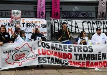 Inicia paro de 24 horas por la educación pública en Montevideo, Uruguay