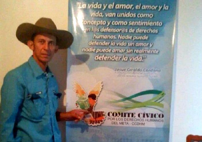 Detienen soldado de la Brigada XVI por asesinato de líder social Daniel Abril