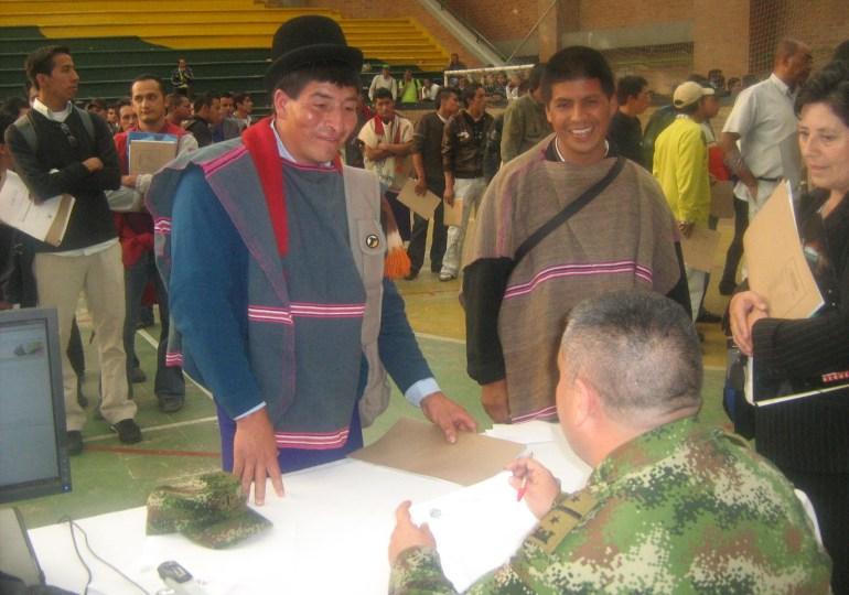Joven indígena le ganó la pelea al servicio militar obligatorio