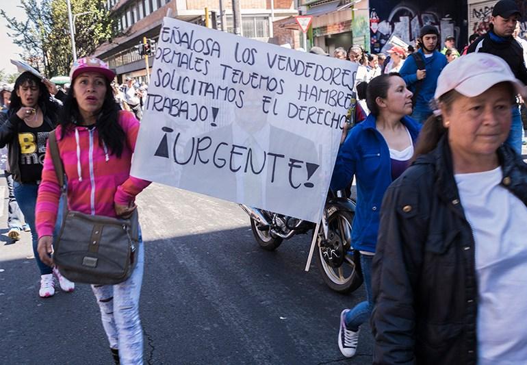 Gobierno Peñalosa: Bogotá sin compasión con los vulnerables