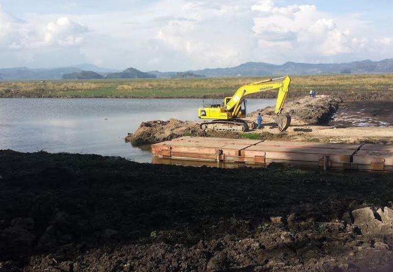 """Olvídense de la Laguna de Fúquene"": CAR"
