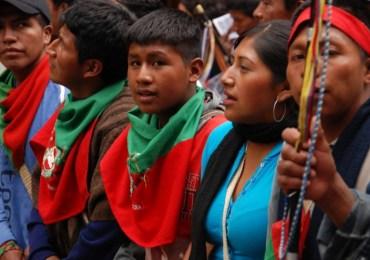 En riesgo indígenas caucanos por persistencia paramilitar