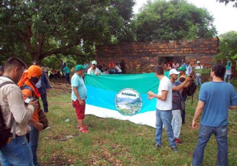 En La Lizama, Norte de Santander impiden desarrollo del paro nacional
