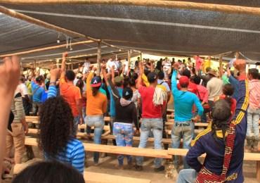 Comunidades en Colombia le apuestan a la constituyente por la paz
