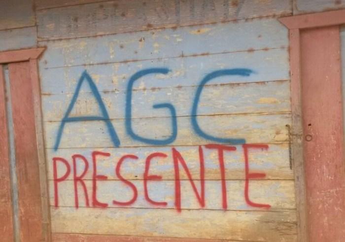 Autodefensas Gaitanistas hostigan a familias de la vereda Guacamayas, Turbo