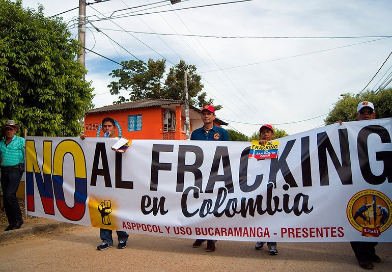 A pesar de efectos nocivos el gobierno da vía libre al Fracking en Colombia