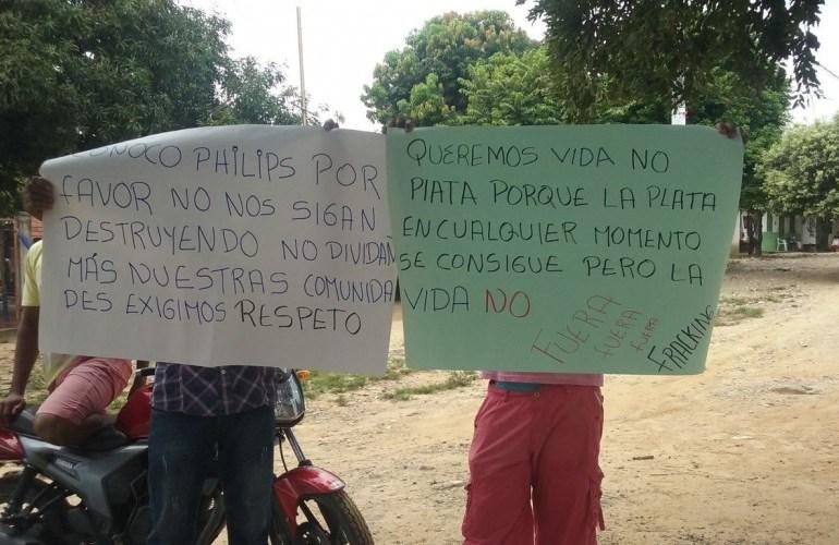 ConocoPhillips suspende actividades para fracking en San Martín, Cesar
