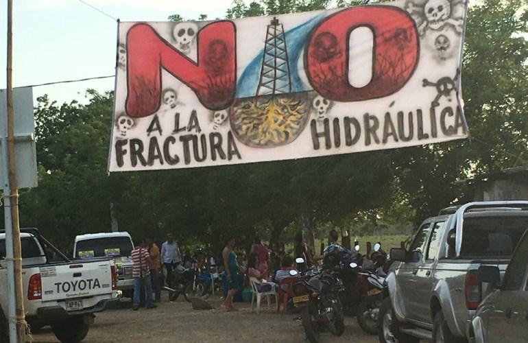 El mapa del fracking en Colombia