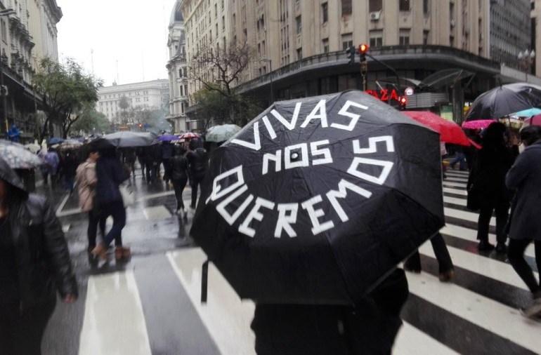 Latinoamérica grita ¡Ni Una Menos!