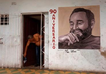El arte fue expresión de homenaje a Fidel Castro