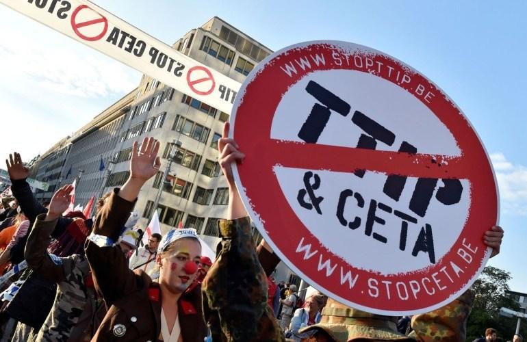 Tratados de libre comercio al servicio de las multinacionales
