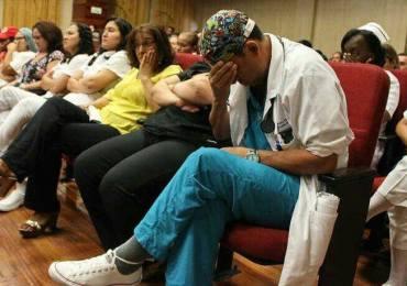 """""""Decidimos vivir en el Hospital Universitario del Valle ante despido masivo injustificado"""" Sintrahospiclinicas"""