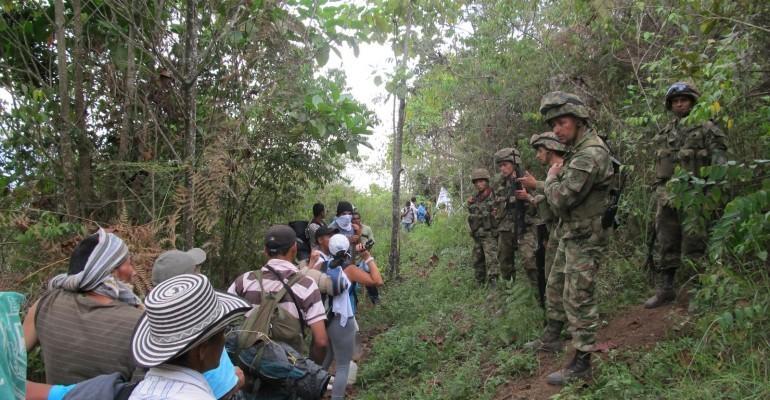 3 mil campesinos de Cauca rechazan erradicación forzada
