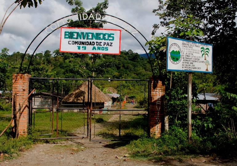14 años después, San José de Apartadó sigue bajo control paramilitar