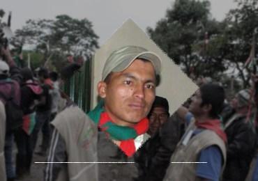 Asesinan a lider indígena Gerson Acosta en Timbio, Cauca