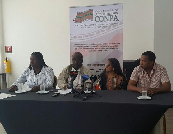 Gobierno tiene 30 días para cumplirle a los pueblos afrodescendientes