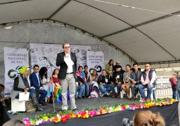 Congreso Nacional de Paz escenario para construir una Colombia incluyente