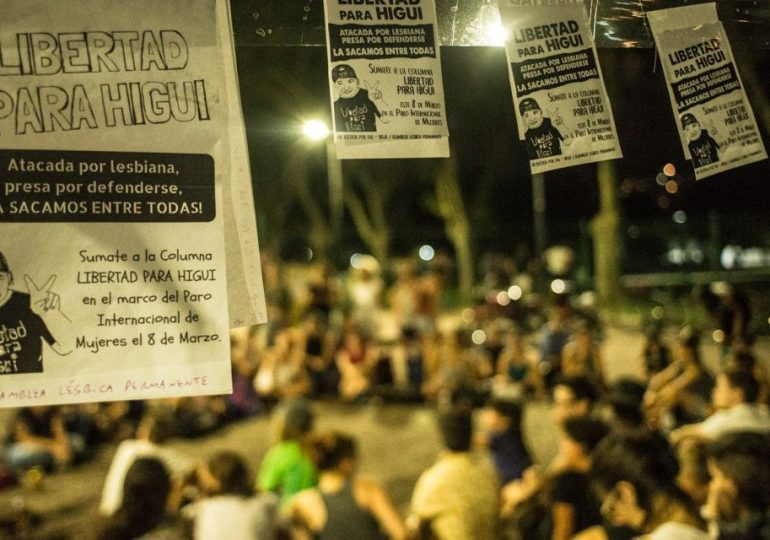 ¡Higui libre, ahora vamos por su absolución!: Movimiento feminista
