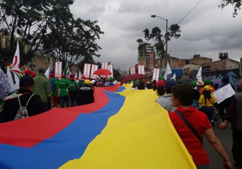 En Fotos: Así fue la movilización en la Toma de Bogotá