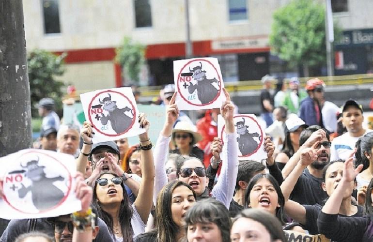Hace falta la decisión del Senado para que se prohíban las corridas de toros en Colombia