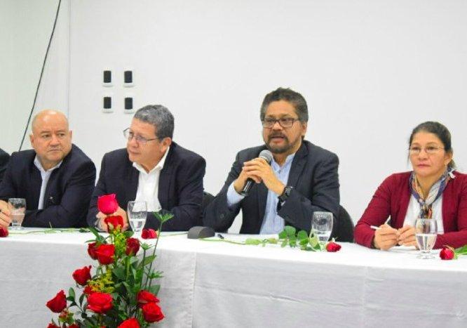 """Hemos ingresado a la política porque queremos ser Gobierno"" Iván Márquez"