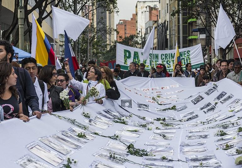 Colombia podría tardar un milenio en identificar a todas las personas desaparecidas