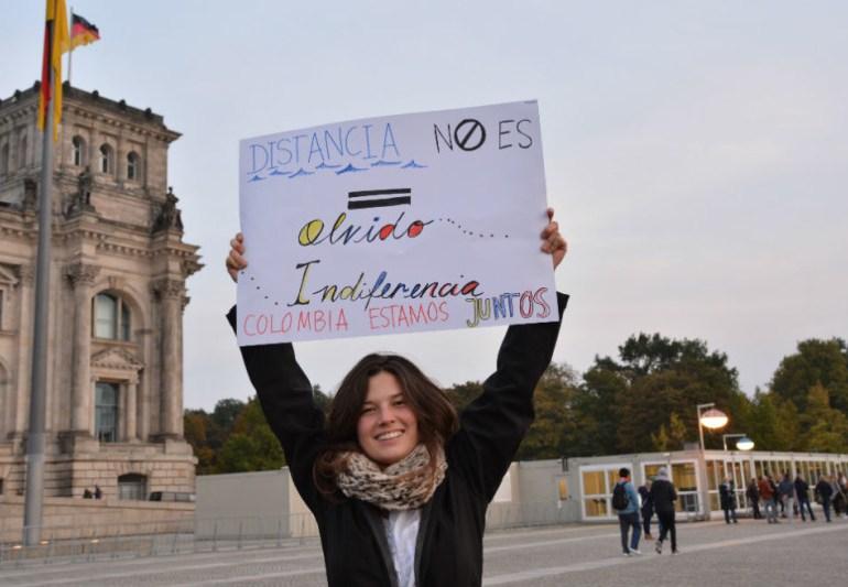 Movimientos sociales de Alemania exigen parar asesinatos de líderes en Colombia