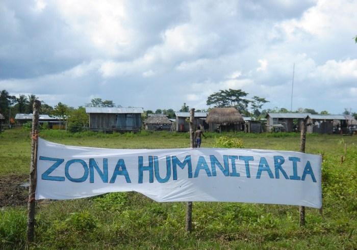 Comunidades en el Chocó declaran nueva Zona Humanitaria