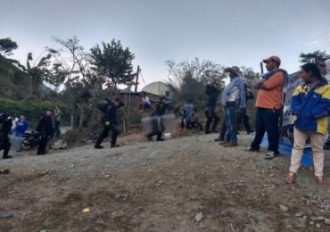 Continúa la violencia y los desalojos contra comunidades afectadas por Hidroituango en Antioquia