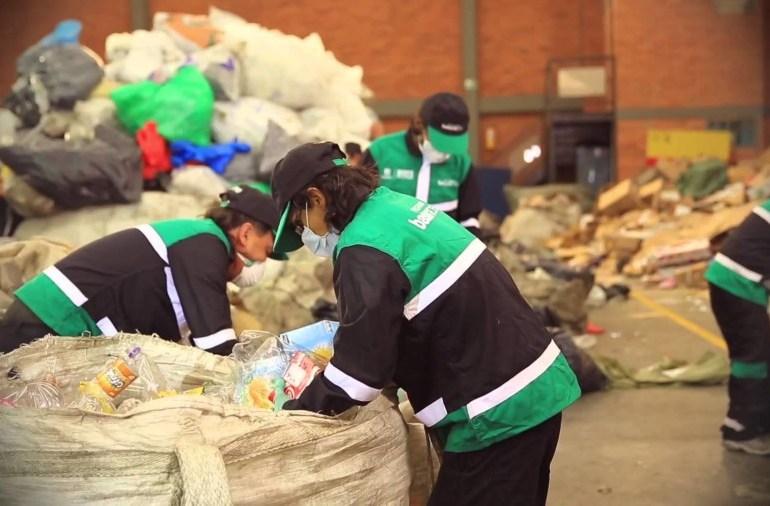 Recicladores de Bogotá piden ser tenidos en cuenta en nuevo sistema de recolección